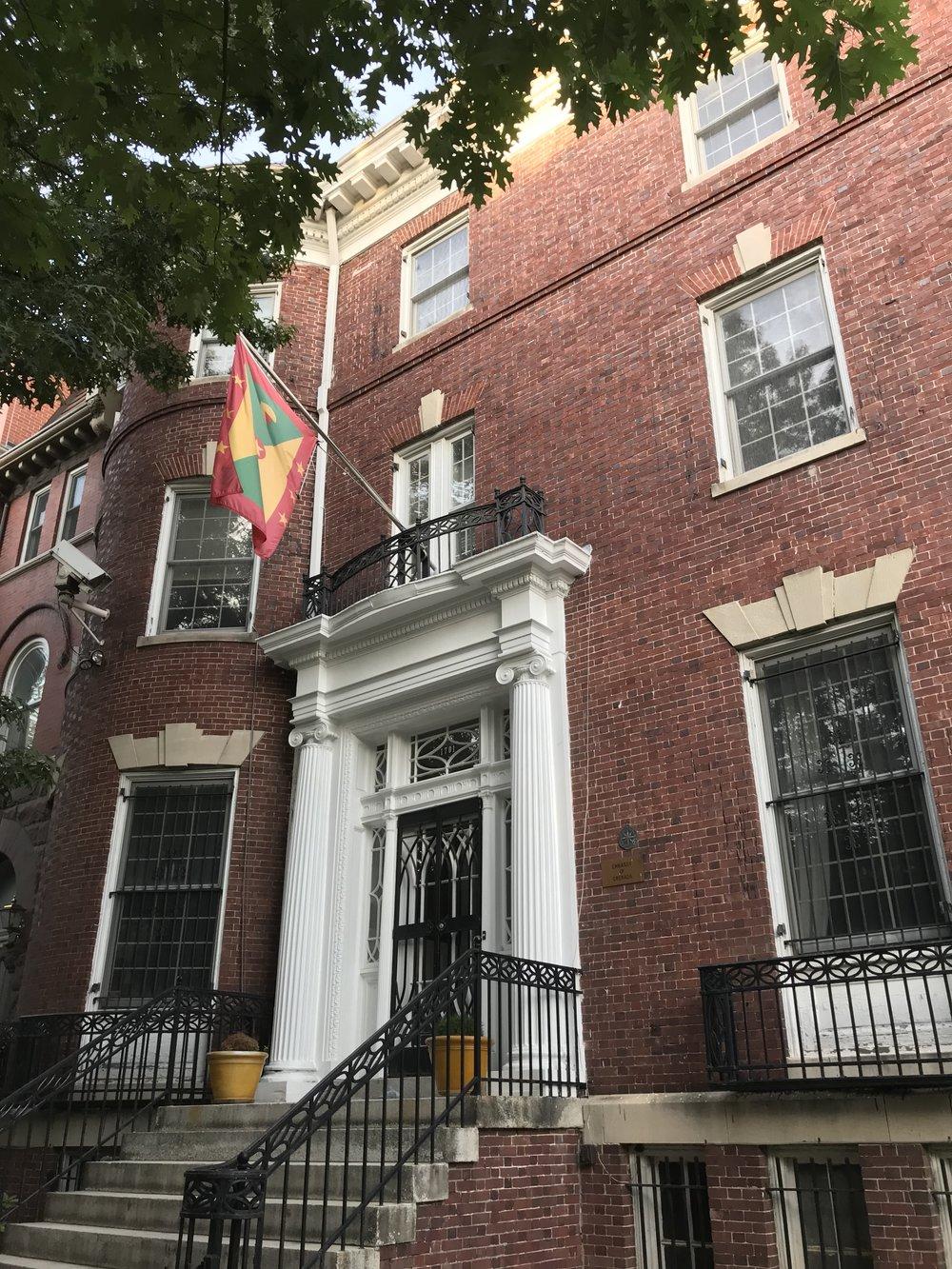 The Embassy of Grenada.