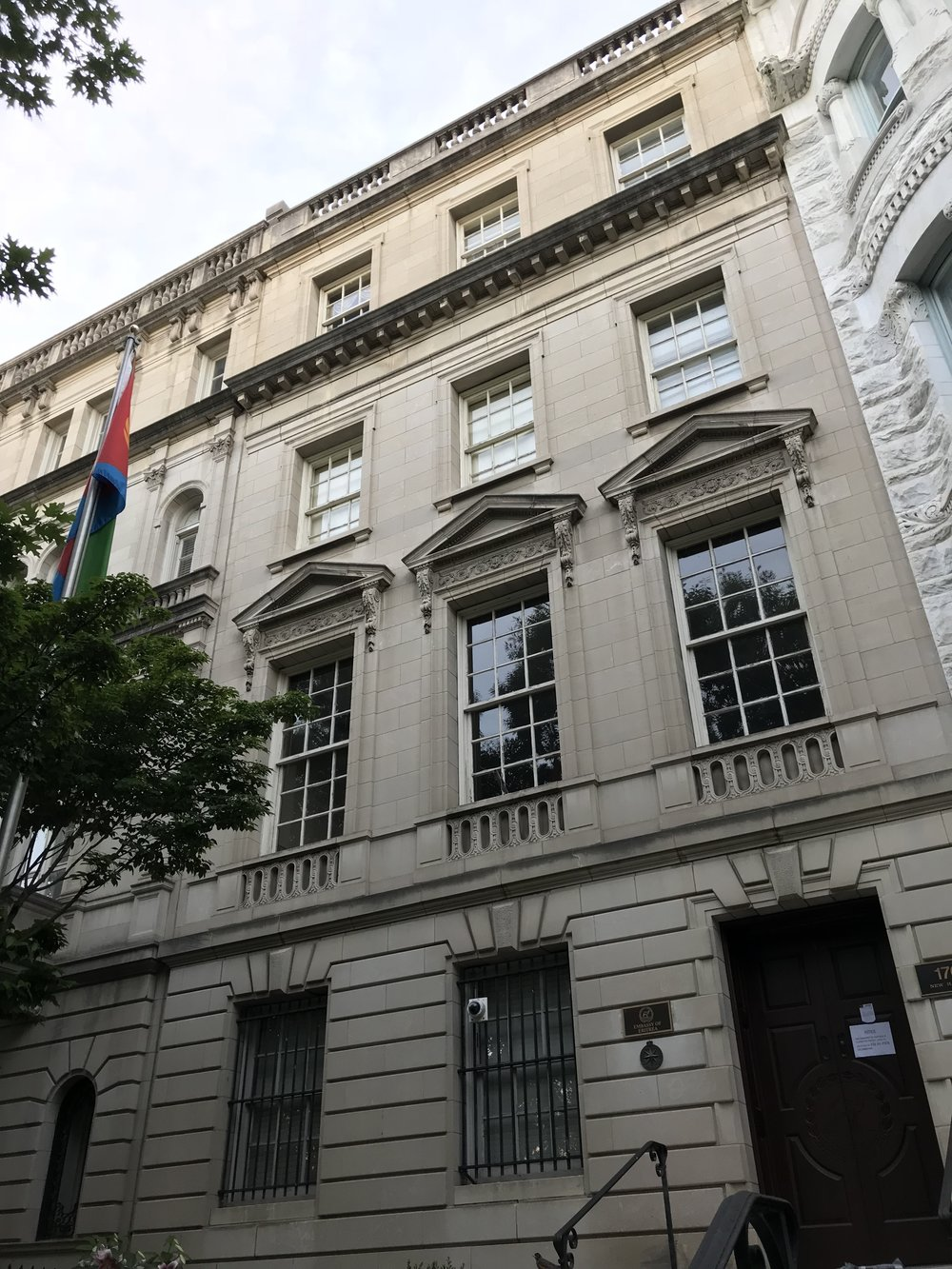The Embassy of Eritrea.