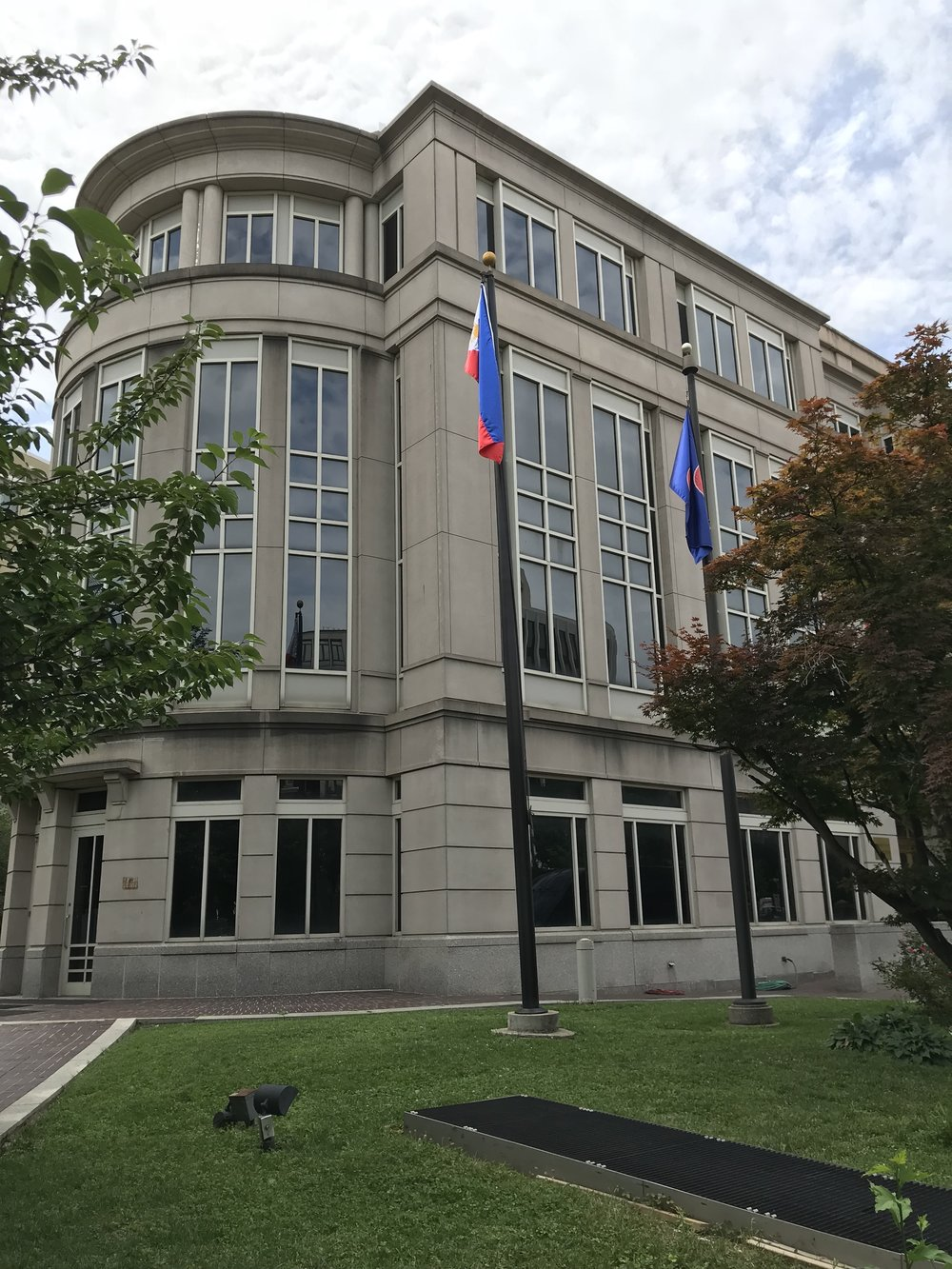 The Embassy of the Philippines.