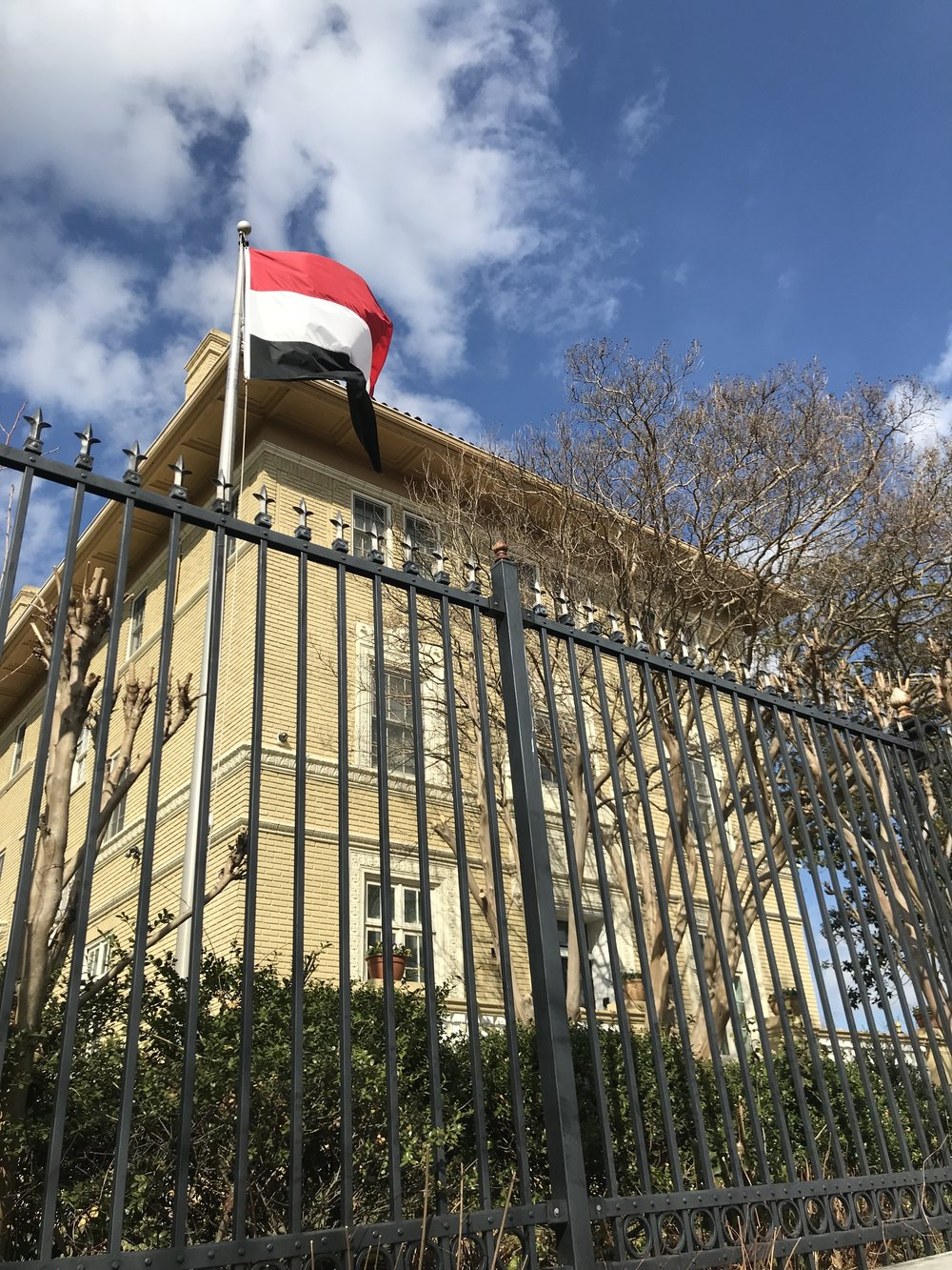 The Embassy of Yemen.
