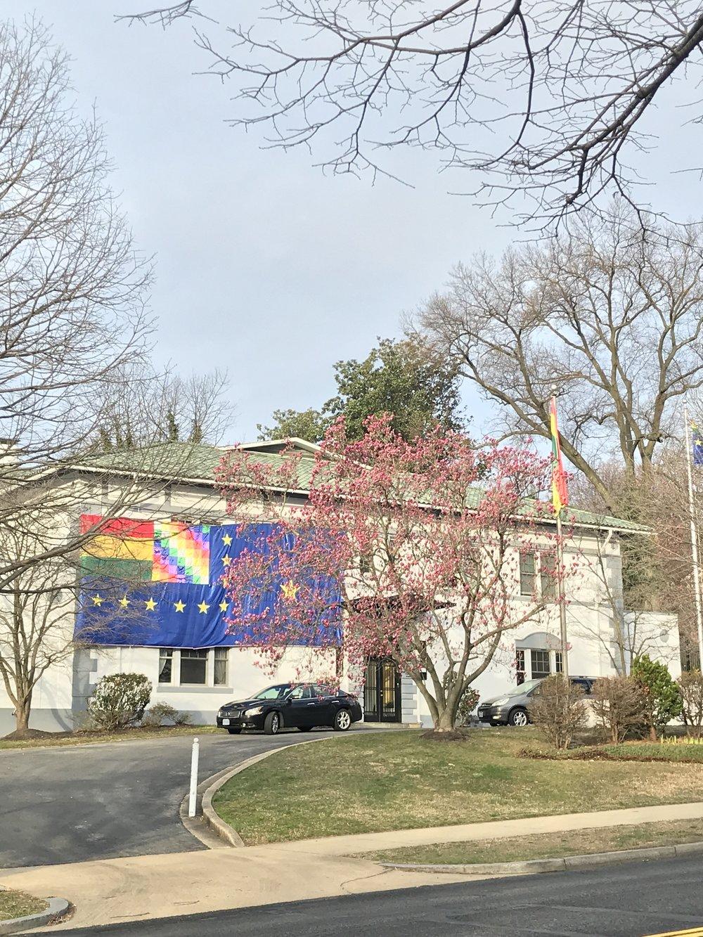 The Embassy of Bolivia.