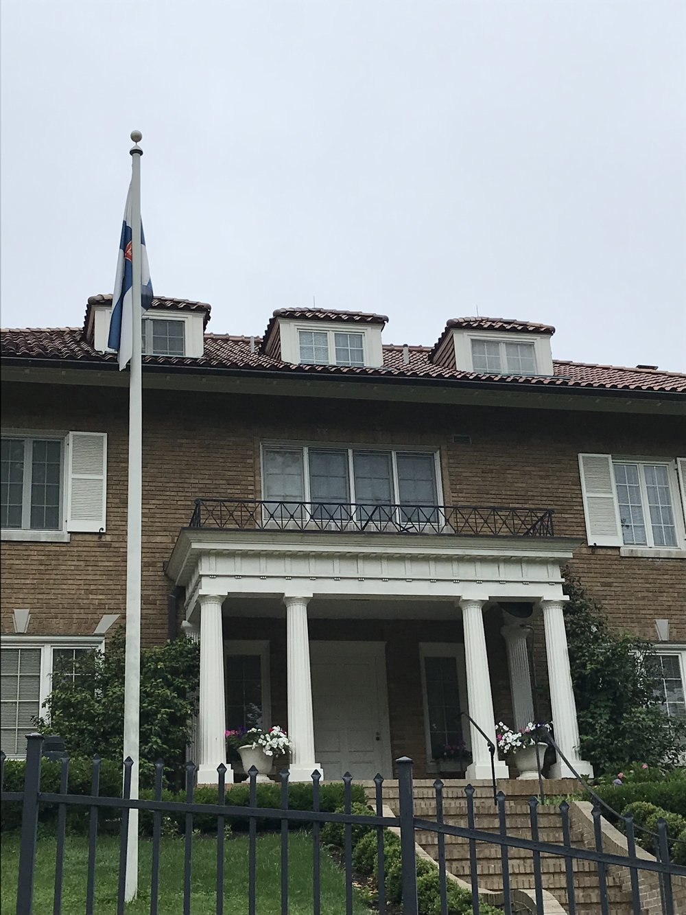 The Residence of the Ambassador of Finland.
