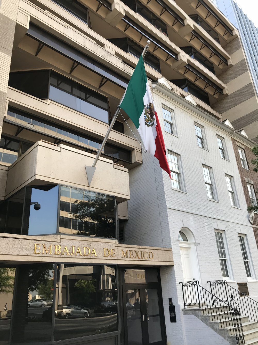 The Embassy of Mexico.