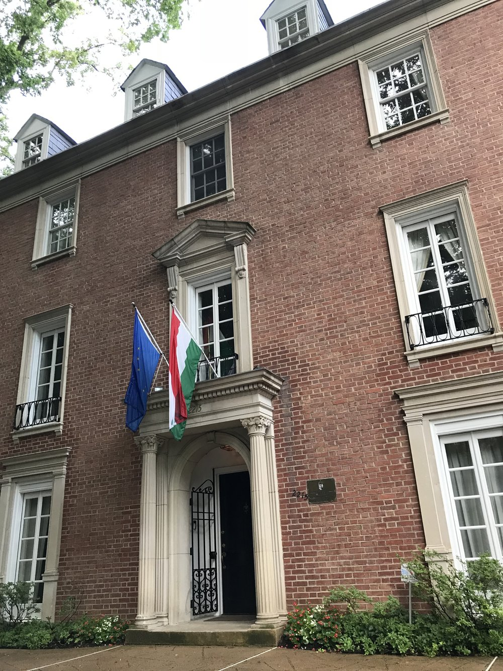 The Residence of the Ambassador of Hungary.