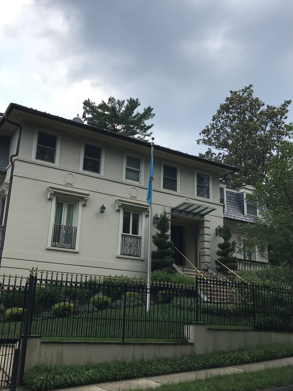 The Residence of the Ambassador of Kazakhstan.