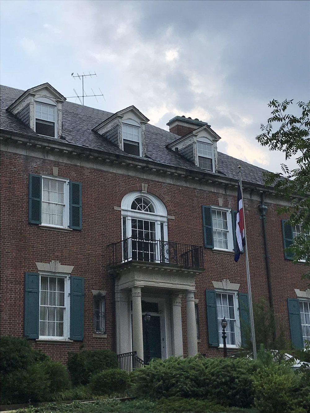 The Residence of the Ambassador of the Dominican Republic.