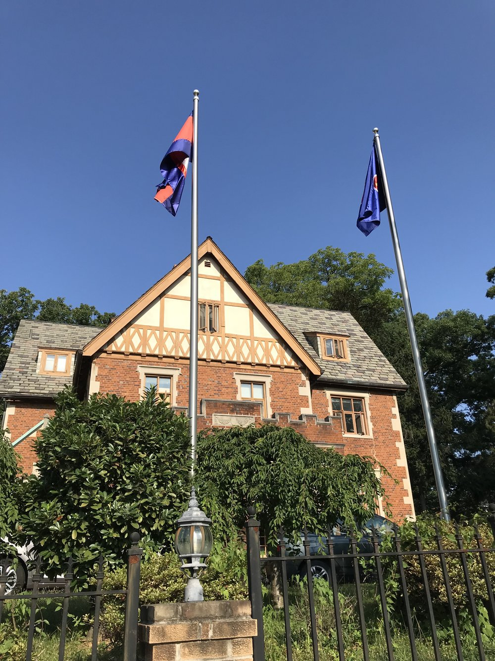 The Residence of the Ambassador of Cambodia.