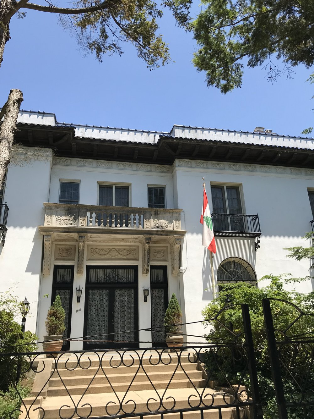 The Residence of the Ambassador of Lebanon.