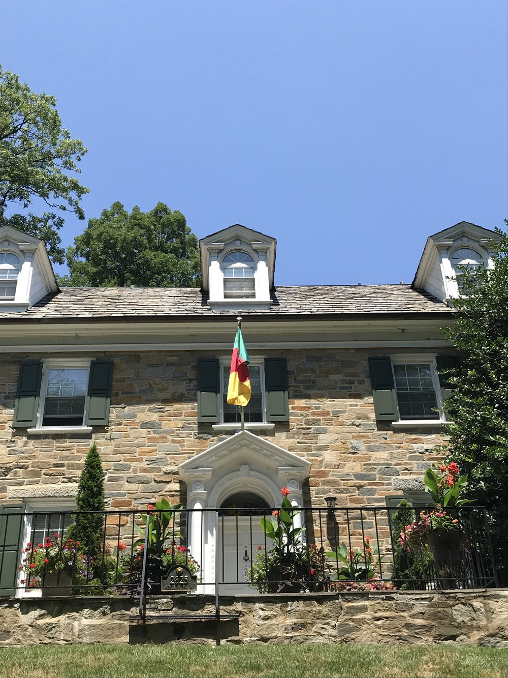 The Residence of the Ambassador of Cameroon.