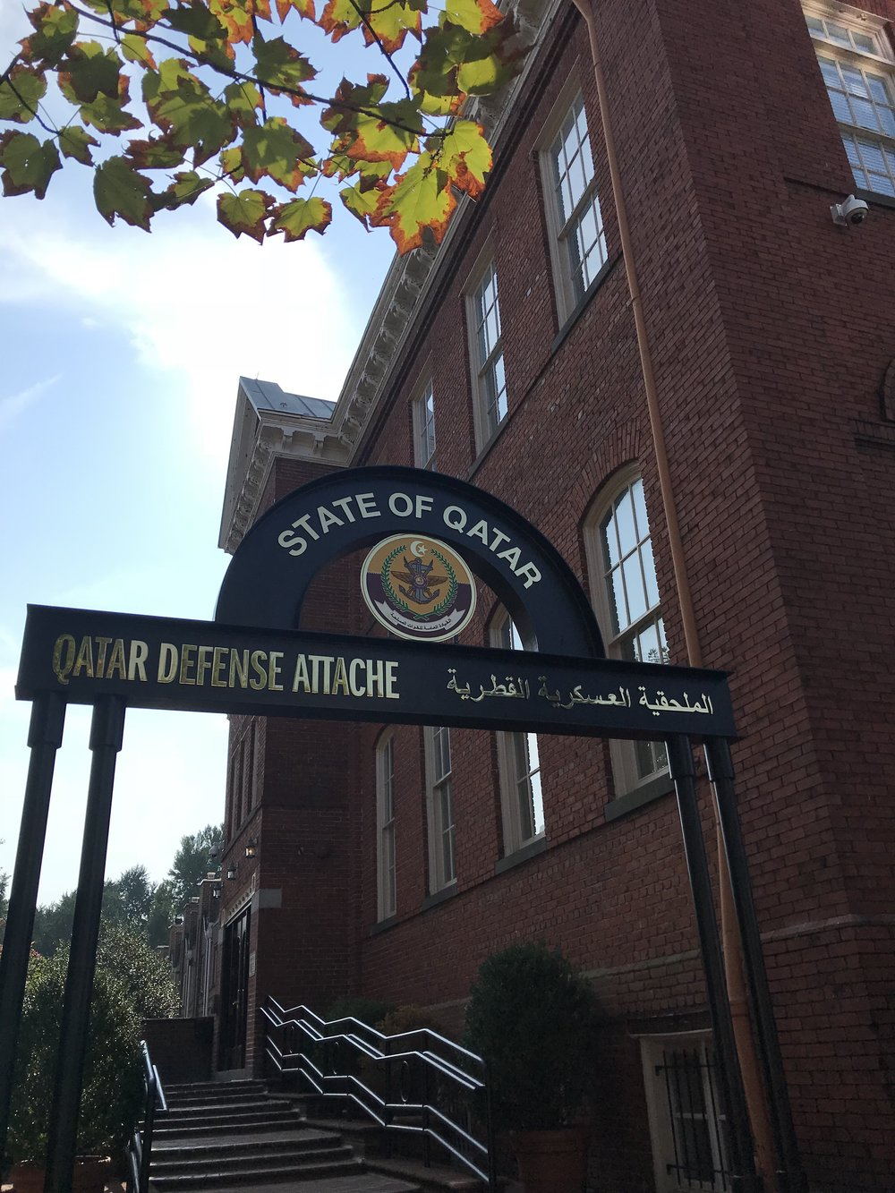 The Embassy of the Qatar, Defense Attache Office.