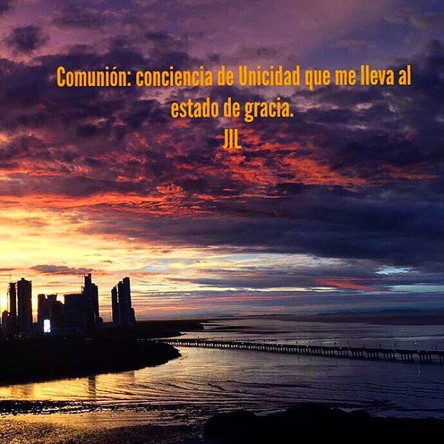 Comunión: conciencia de Unicidad que me lleva al estado de gracia. 📷@marysofialujan #stilness #paz #abundance #conciencia