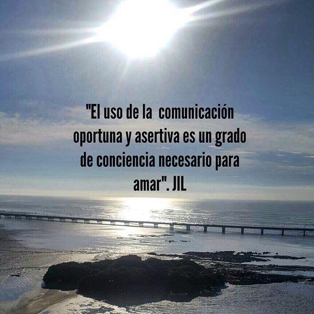 """""""El uso de la  comunicación oportuna y asertiva es un grado de conciencia necesario para amar"""".#abundance #conciencia #awareness #alegria #comunicacion"""