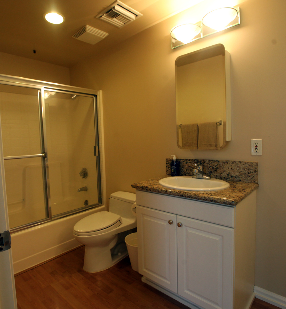 Unit 520 Bathroom