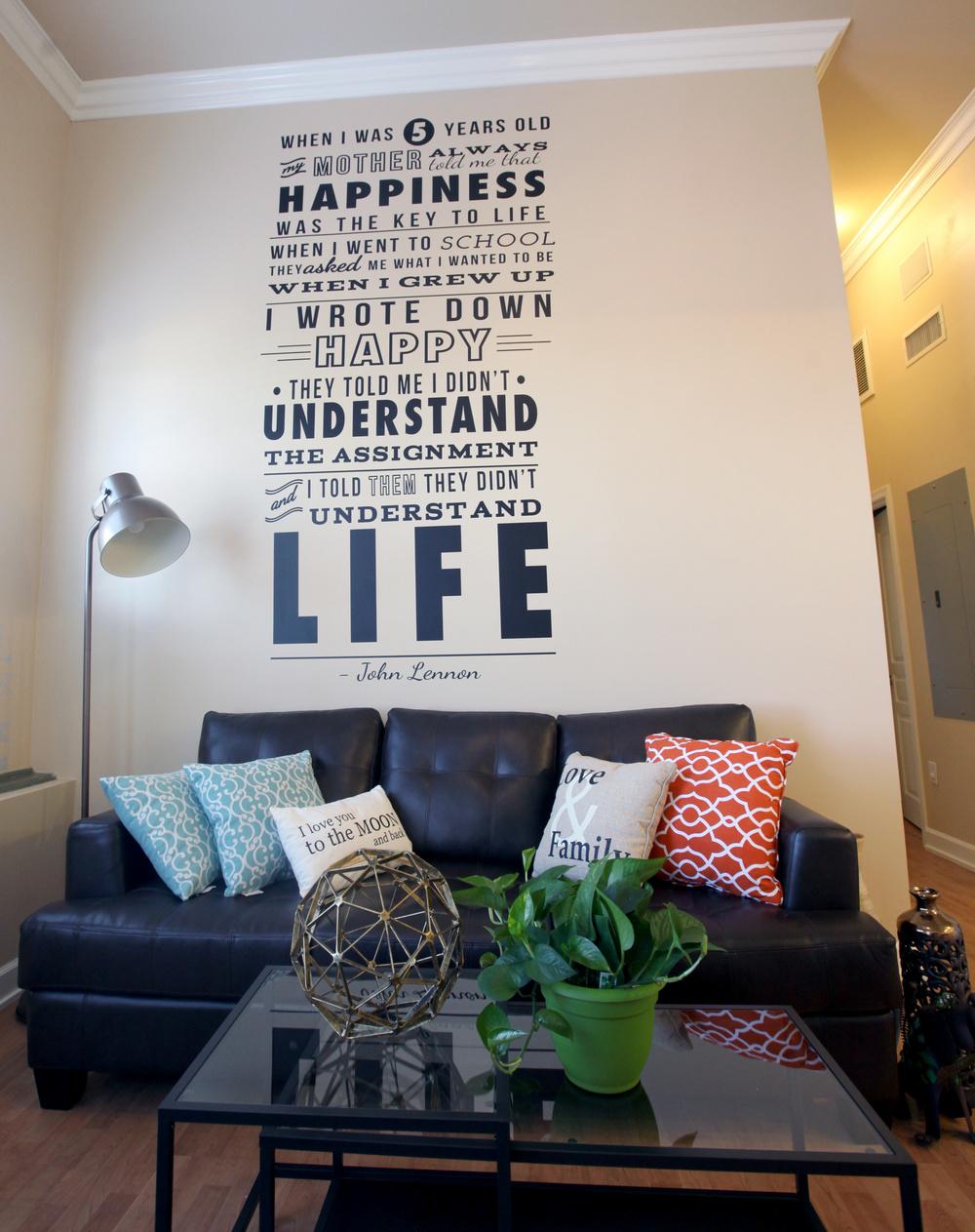 Unit 630 Living Room
