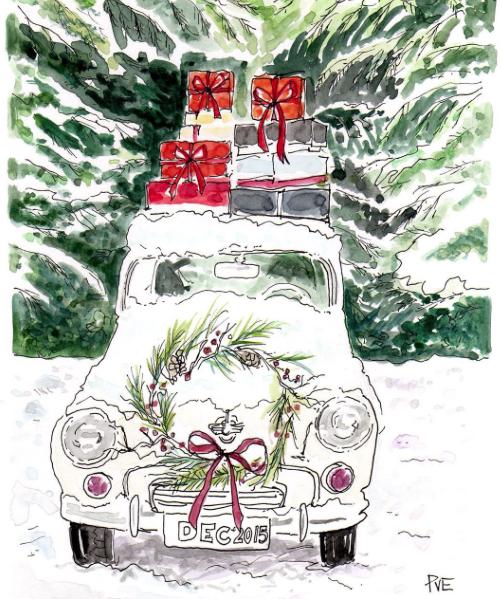 Illustration by Patricia Van Essche