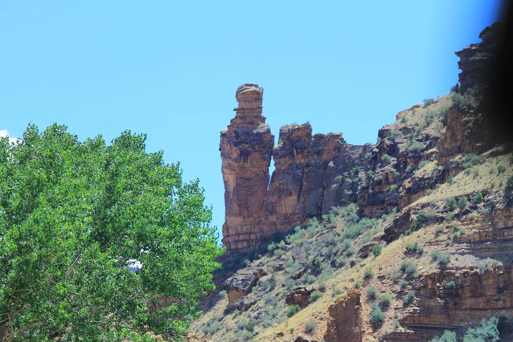 "The Nine Mile Canyon ""Mummy"""