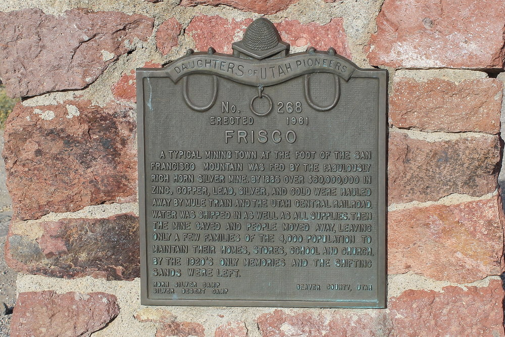 Frisco Historical Marker