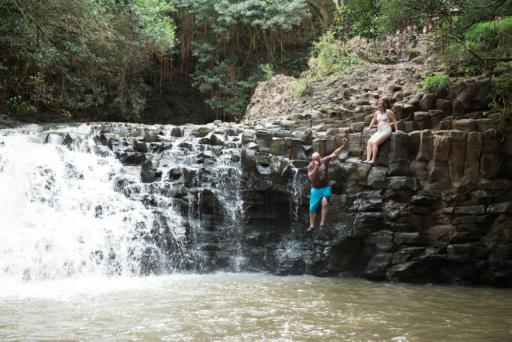 Go for a dip at Twin Falls.