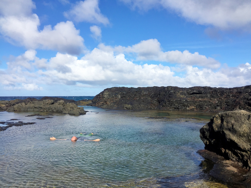 The magical Olivine Pools.