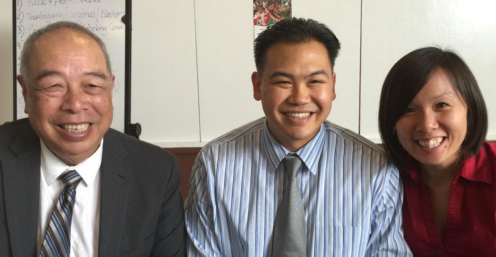 Daniel Yee/Kevin & Vivian Wong - CORNERSTONE TRINITY