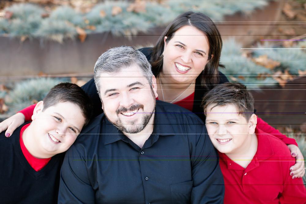 Romanian Baptist - San Francisco Van & Christine Monafu with boys - Timothy and Michael