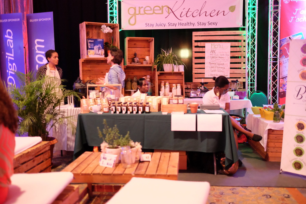 Green Kitchen At Oxygen Expo