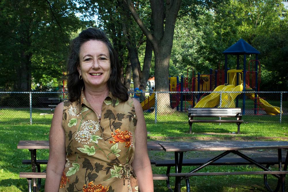 Danielle au parc Nicolas-Viel