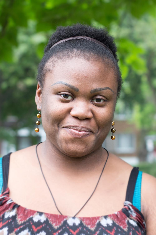 Nelly E. dans le Parc Tolhurst