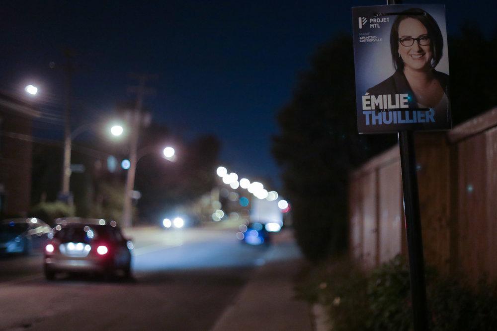 Une nouvelle mairesse pour Ahuntsic-Cartierville en voie d'être élue.