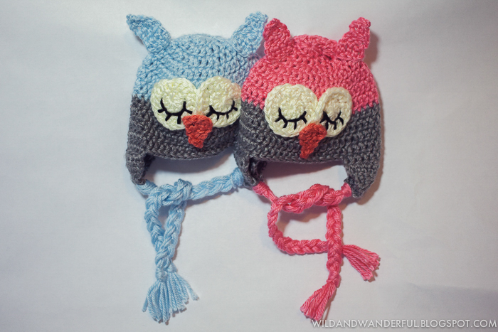 Sleepy Owl Free Crochet Hat Pattern ? Wild & Wanderful