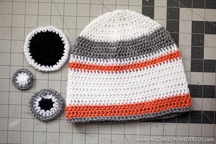 Crochet Hat Patterns Using Magic Circle : BB-8 Inspired Hat :: Free Crochet Pattern ? Wild & Wanderful