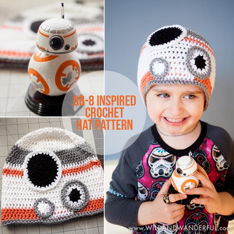 Free Crochet Hat Patterns Star Wars : BB-8 Inspired Hat :: Free Crochet Pattern ? Wild & Wanderful