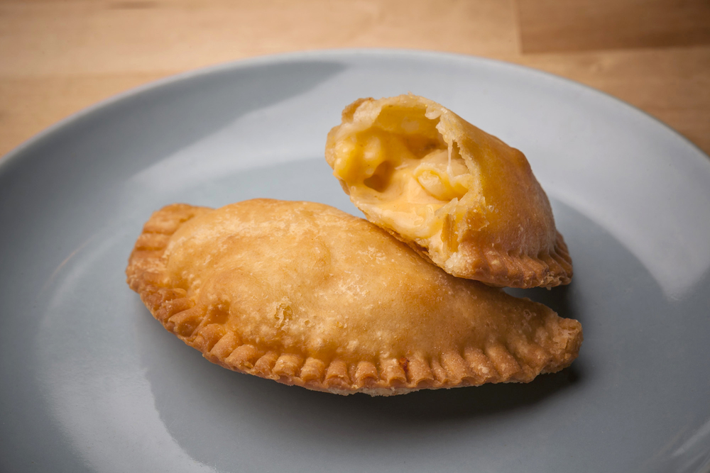 Macaroni & Three Cheese Pie, photograph courtesy of Dale's Fried Pies