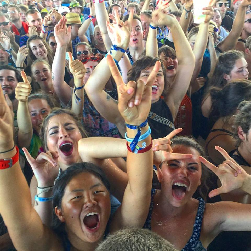 Forecastle 2016 festival fans, photo by Bill Foster