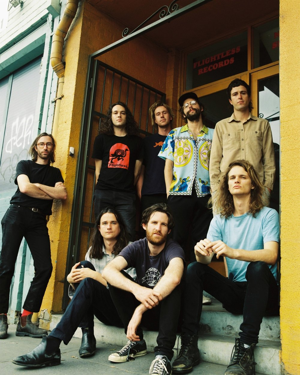 King Gizzard & The Lizard Wizard, photo courtesy of KG&LW management