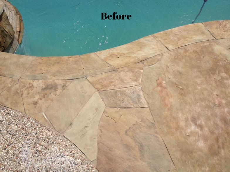 natural stone salt sealer - repair