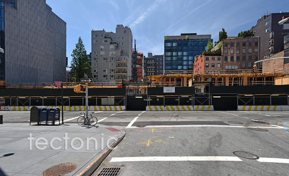 Hudson Street side