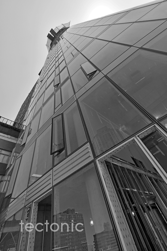 Western facade