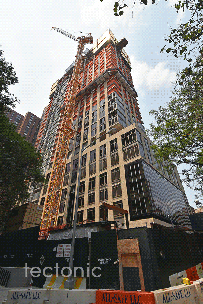 Viewed from East 93rd Street