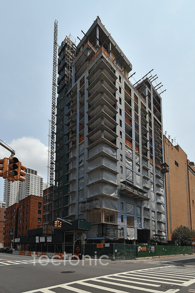 Viewed from the west at East 74th Street & York Avenue