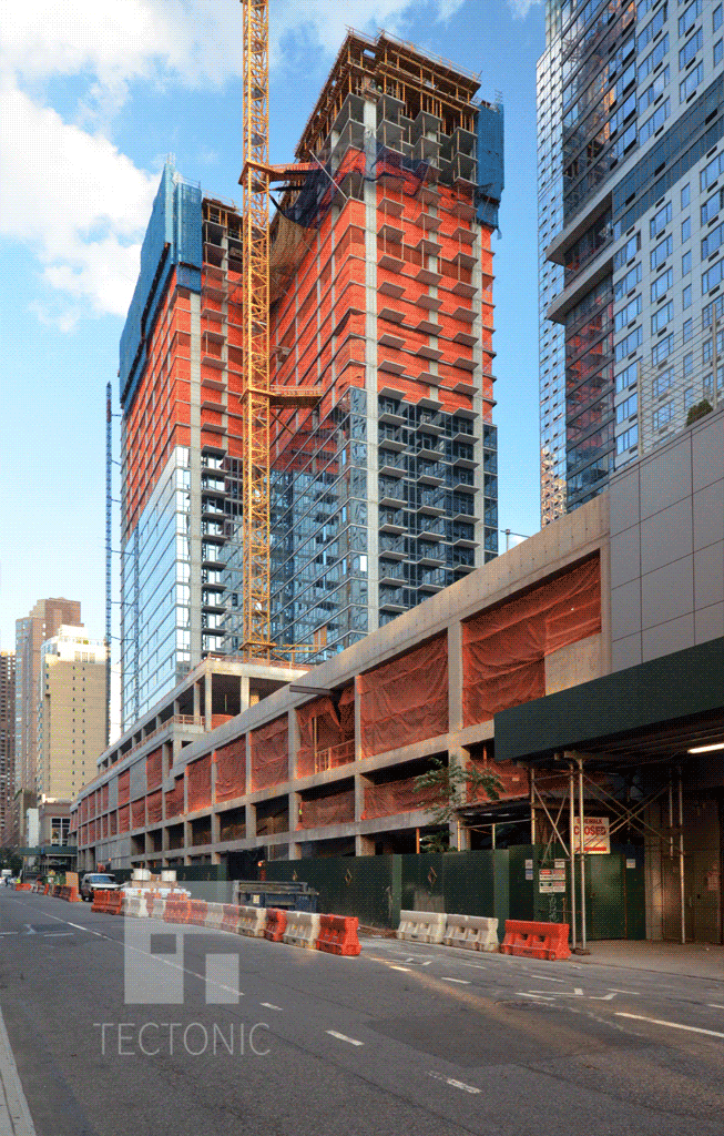 West 43rd Street side in August 2014