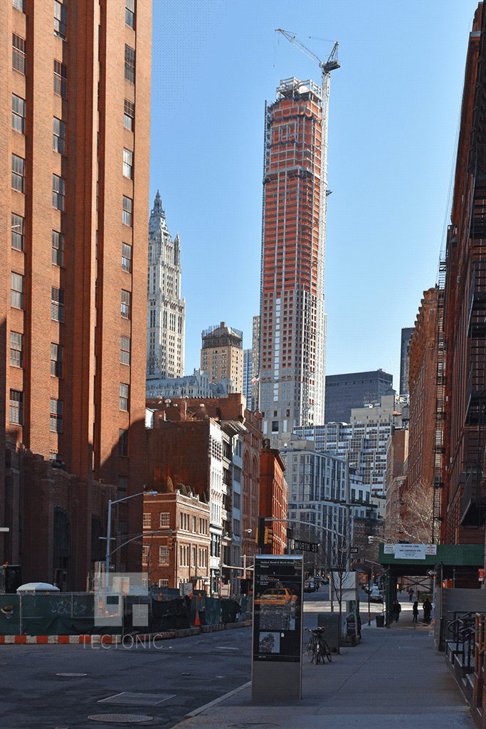 Viewed from Tribeca in March 2015