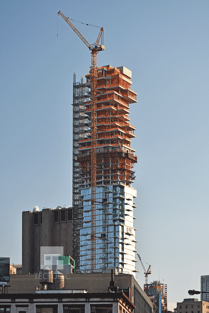 Viewed from Varick Street