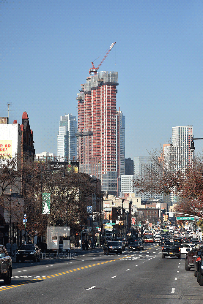 Viewed from Prospect Heights