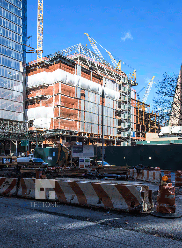 Retail podium   (20 Hudson Yards)   from West 30th Street