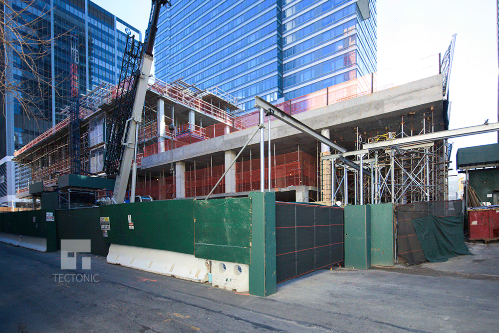 View southward along West 58th Street