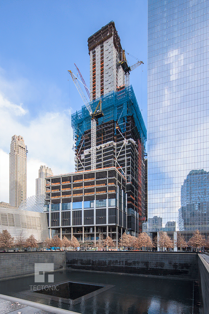 Construction Photos 3 World Trade Center Nyc Tectonic