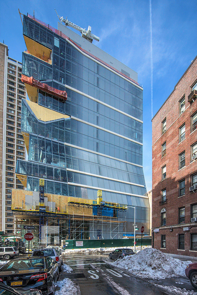 Viewed from West 171st Street