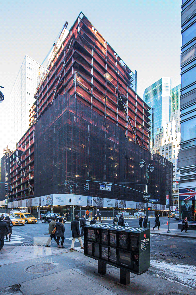Viewed   from East 46th Street and Madison Avenue