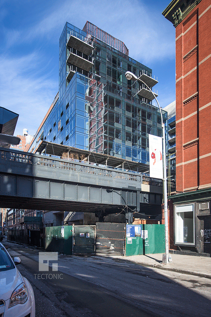 West 28th Street building viewed from the southeast